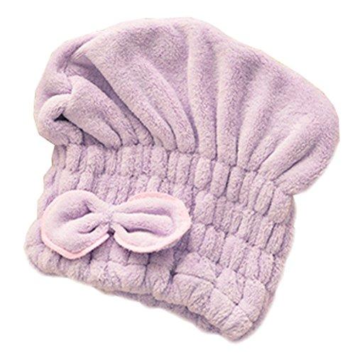 Pratique bonnet pour les filles/belle bonnet de douche, violet bowknot