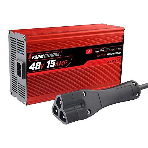 FORM 15 AMP EZGO RXV & TXT Battery Charger for 48 Volt Golf Carts