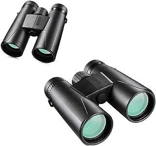 大人用ルーフプリズム双眼鏡、コンパクト双眼鏡、防水/防曇、ハイパワー双眼鏡、バードウォッチング用プロ双眼鏡、HD、トラベル/スターゲージング/ハンティング/コンサート、望遠鏡10x42