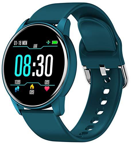 Fitness Armbanduhr Frauen Blutdruck Pulsmesser Sport Kalorienzähler Schrittzähler Wasserdicht Männer Smartwatch IOS Android Damen Uhr