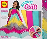Alex Craft Knot-A-Quilt Chevron Kit Kids Art and Craft Activity