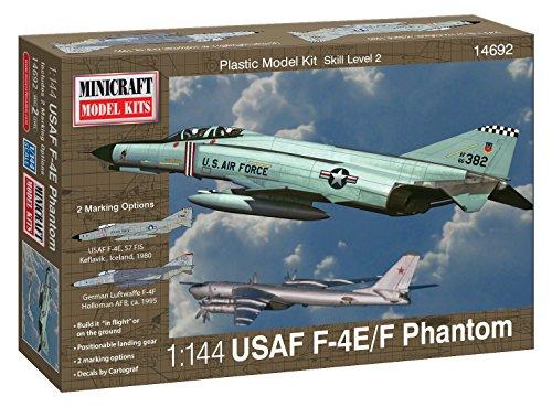 Minicraft Models Dempsey Designs Morceau modèles Echelle 1 : 144 cm USAF F-4E Phantom/F modèle Kit