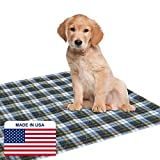 Dry Defender Puppy Pad (34' x 36') - Washable Puppy Training Pad for Housebreaking Your Pet