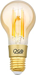 Lâmpada Inteligente Smart Lamp I2GO Vintage Wi-Fi LED Filamento I2GO - I2GO Home - Compatível com Alexa