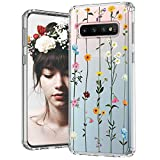 MOSNOVO Galaxy S10 Plus Case, Wildflower Floral Flower