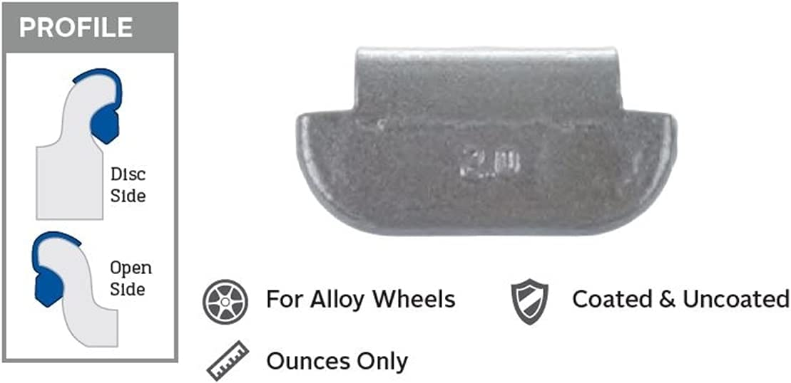 Perfect Equipment shopping PWWTAL-080 8 oz Coated B Truck Weight44; excellence Wheel