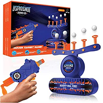 USA Toyz AstroShot Zero GS Shooting Games for Kids - Nerf Compatible Floating Ball Targets for Shooting with Foam Blaster Toy Gun 10 Floating Ball Targets 10 Foam Darts and 5 Flip Shooting Targets