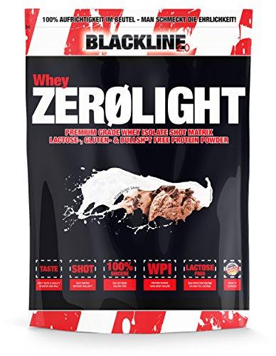 #sinob Whey ZEROLIGHT - 100% Pures Whey Isolat Mit Einzigartiger SHOT Matrix. Laktose-, Gluten-& Bullsh*t Frei. Optimal Für Fettfreien Muskelaufbau. 1 x 750 g (Schokolade Sahne)