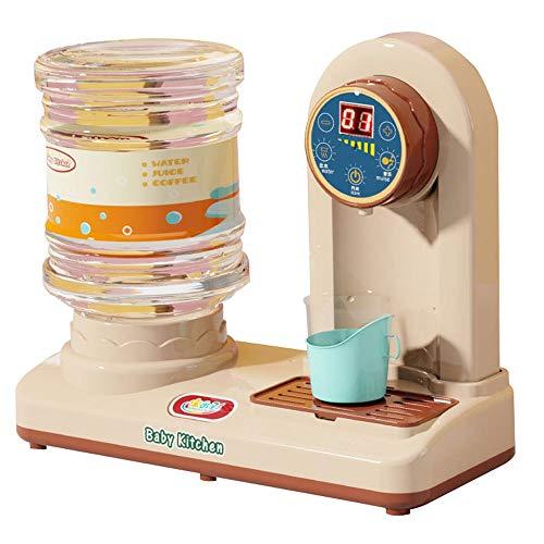 JTL Conjunto de dispensadores de Agua para niños, Juego de Cocina de Juego, Juguetes de electrodomésticos de Cocina Excelentes Regalos de Aprendizaje para niños niñas niños (Color : Red)