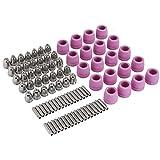 Plasmaschneider-Schneidbrenner-Düsen-Verbrauchsmaterial-Kit, 90 Teile/Satz Plasmaschneider-Schneidbrenner-Verbrauchsmaterial-Elektrodendüsen-Becher-Kit, für AG-60-Plasmaschneidbrenner