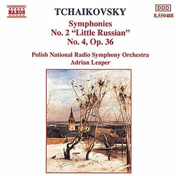 Tchaikovsky: Symphonies Nos. 2 and 4