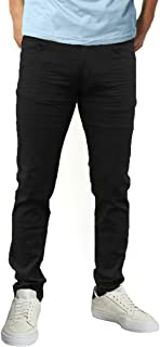X RAY Men's Jean Cut All Season Casual Pants Slim Straight Fit Stretch Fabric Five Pocket Jeans for Men