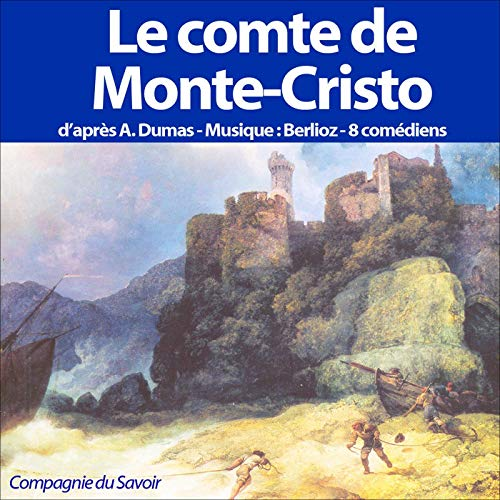 Le comte de Monte-Cristo  By  cover art