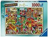 Ravensburger Puzzle, Puzzle 1000 Piezas, El Abecedario de Colin Thompson, Puzzles para Adultos, Rompecabezas Ravensburger