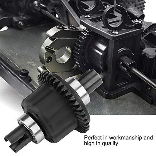 Dilwe RC Differential, Metall Diff Differential Stahlgetriebe 38T Vorne Hinten Differential für RC Auto Fernbedienung Modell Auto Zubehör
