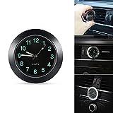 TiooDre - Reloj de cuarzo universal para el viento del coche con luz...