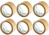 6 Rollen Klebeband Packband 50m X 48mm extra stark und