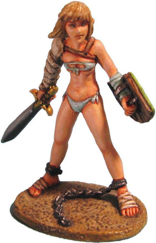 Aurora Model Fantasy Game Miniatures Eleven Gladiator Fighter Metal Figure FE06