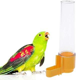 Lazder Papagei Feeder - Recipiente para Beber Agua automática, diseño de pájaros