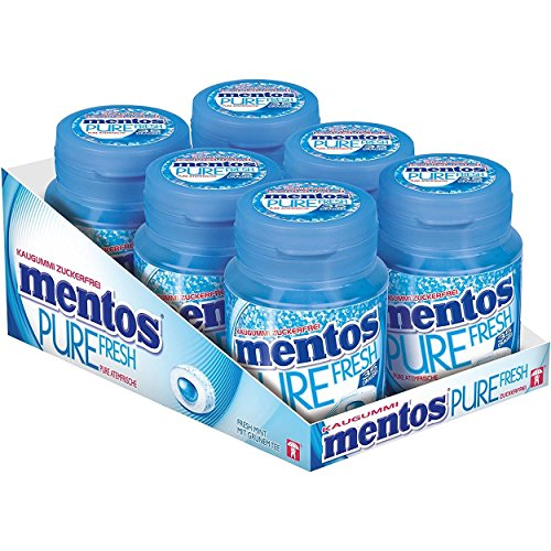 Mentos Gum Pure Fresh Mint Zuckerfrei 6x70g