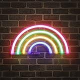 Enseigne lumineuse au néon FOOING Enseigne au néon Décoration murale Néons pour chambre à coucher Applique murale à piles et enseigne LED à commande USB pour cadeaux pour enfants Maison, fête, Noël