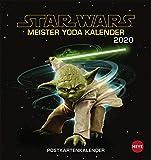 STAR WARS Meister Yodas Weisheiten Postkartenkalender. Postkartenkalender 2020. Monatskalendarium. Spiralbindung. Format 16 x 17 cm - Heye