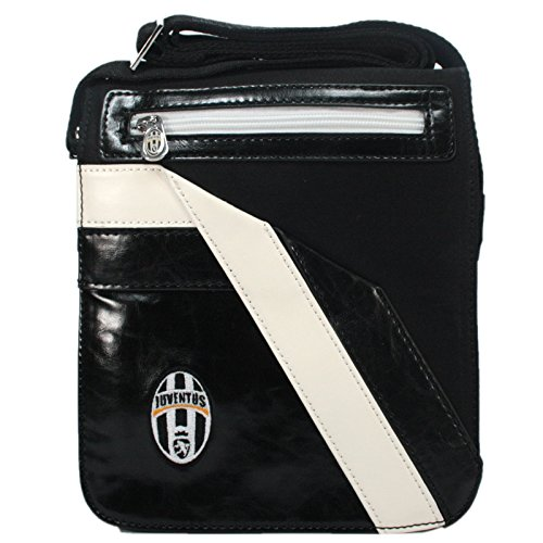 Enzo Castellano - Bolso al Hombro para Hombre Multicolor Black and White 23x20x6