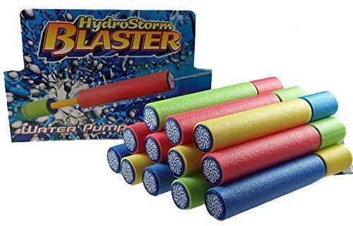 Set besteht aus 12 Wasserpistole HYDRO STORM Blaster Shooter Pumpe