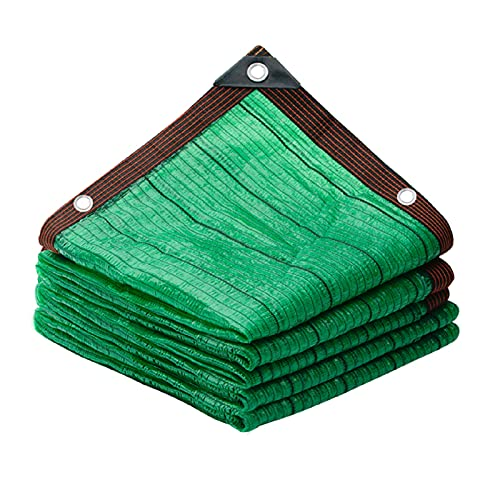 LSSB Al Aire Libre Solar Sombra Paño Enfriarse HDPE Pantalla De Jardín Verde Pull-Resistente Malla De Sombreo para Patio Estanque De Peces Balcón Cochera, Personalizable