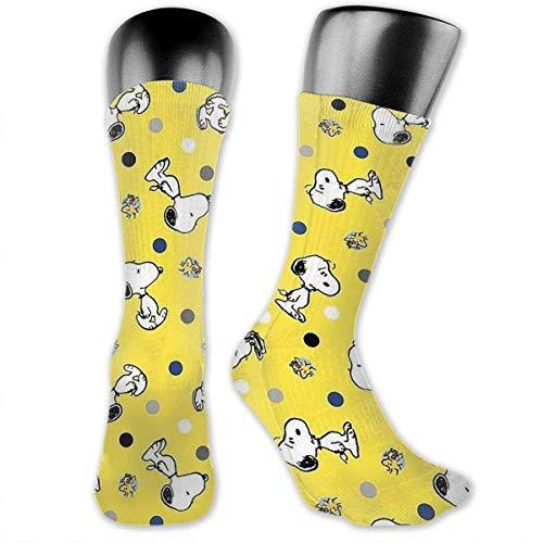Hongfago Calcetines para adultos hombres y mujeres calcetines de ocio de uso general calcetines deportivos calcetines gruesos clásicos Snoopy