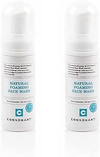 consonant natural foaming face wash