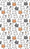 Agenda Kawaii: Gatti Felici - Valida per tutti gli anni
