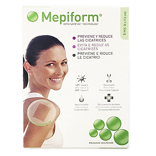 MEPIFORM APOSITO 5X7,5 5 LAMINAS by Molnlycke Health Care