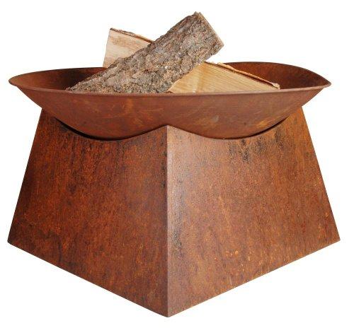 Esschert Ontwerp vuurschaal roest, bruin, 56,5 x 56,5 x 33 cm, FF149