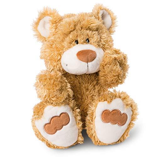 NICI 46508 Kuscheltier Bär 35 cm – Plüschtier für Mädchen, Jungen & Babys – Flauschiges Stofftier zum Spielen, Sammeln & Kuscheln – Gemütliches Schmusetier, Goldbraun