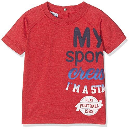 BIMBUS 171IDFN007 T-Shirt, Rosso (Rosso Scuro 02), 86 (Taglia...
