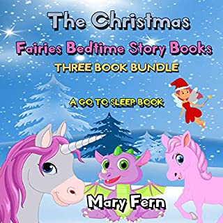 The Christmas Fairies Bedtime Story Books: A Go to Sleep Book Three Book Bundle cover art