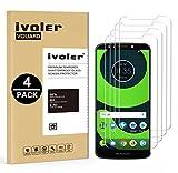iVoler [4 Pack] Pellicola Vetro Temperato per Motorola Moto G6 Play/Motorola Moto E5, Pellicola Protettiva, Protezione per Schermo