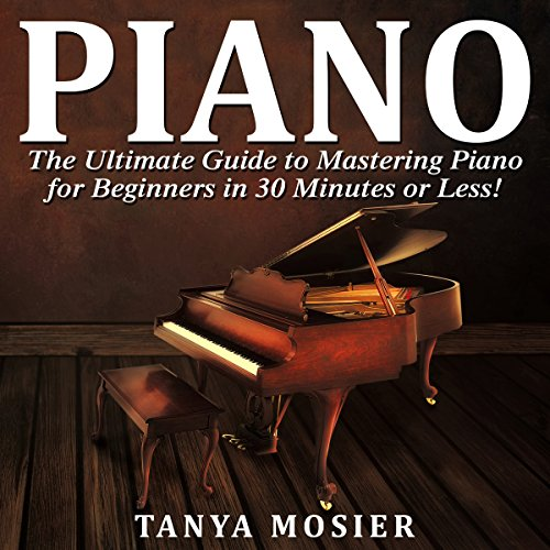 Piano audiobook cover art