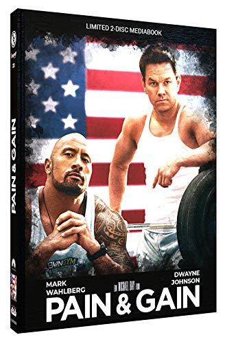 Pain & Gain - Mediabook - Cover B - Limited Edition auf 333 Stück (+ DVD) [Blu-ray]