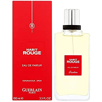 Habit Rouge By Guerlain Cologne Eau De Toilette Spray 3 4 Oz Beauty