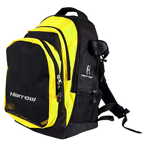 Harrow Elite Backpack, Black/Yellow