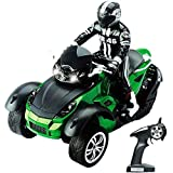 RC Remote Control Three Wheel Roadster Motorcycle with Headlights
