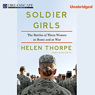 Soldier Girls audiobook cover art