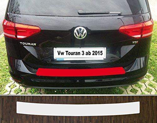 is-tuning passgenau für ***VW Touran*** ab 2015, Lackschutzfolie Ladekantenschutz transparent