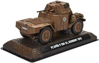 Pz Spähwagen 204F Wehrmacht 1942 1:43 Fertigmodell aus Metall in Displayvitrine