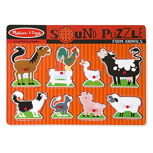 Melissa & Doug Sound Puzzle - Farm