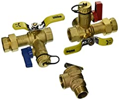 Lead Free - Meets all federal & state standards for lead levels in drinking water system components. Size is 3/4in Tankless Water Heater Service Valves 1 per carton - 10 per case - Individually Priced & Sold Includes a residential pressure relief val...