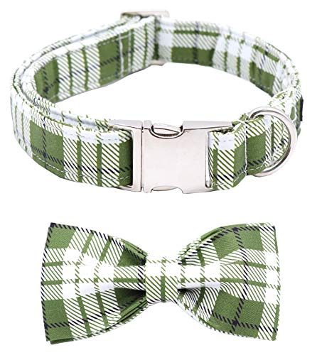 ARING PET Bowtie Dog Collar, Dog Collar with Bow, Adjustable Dog Collars for Small Medium Large Dogs.