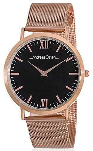 Andreas osten Reloj para Mujer Analógico de Cuarzo con Brazalete de Acero Inoxidable AO-205